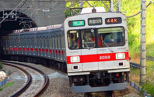 東急2000系(田園都市線·2002編成·方向幕時代)増結用中間車4両セット(動力無し) 【グリーンマックス·30741】 「鉄道模型 Nゲージ GREENMAX」