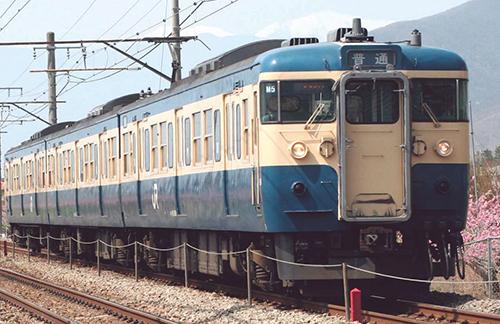 115系-300・スカ色 6両セット 【マイクロエース・A7776】「鉄道模型 Nゲージ MICROACE」