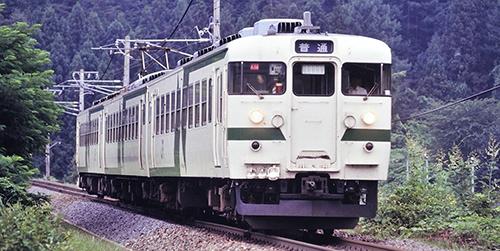 169系電車(松本運転所・改座車)増結セット (3両) 【TOMIX・98294】「鉄道模型 Nゲージ トミックス」