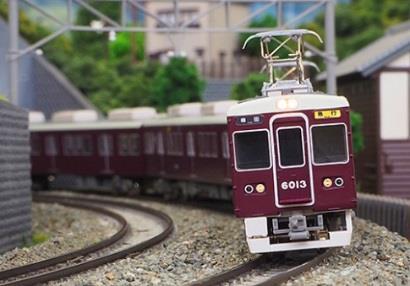 阪急6000系神戸線6050編成8両編成セット(動力付き) 【グリーンマックス・30240】「鉄道模型 Nゲージ GREENMAX」