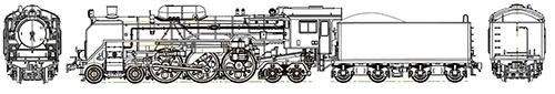 国鉄C60第1次改造車【トラムウェイ・TW-C60A】「鉄道模型 HOゲージ 蒸気機関車」