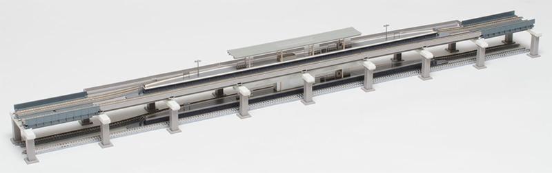 高架複線階層駅セット(レールパターンHB-B)【TOMIX・91043】「鉄道模型 Nゲージ トミックス」