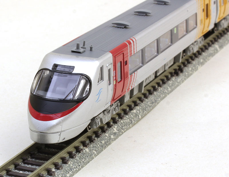 四国8000系・特急しおかぜ・方転 5両セット 【マイクロエース・A2995】「鉄道模型 Nゲージ MICROACE」