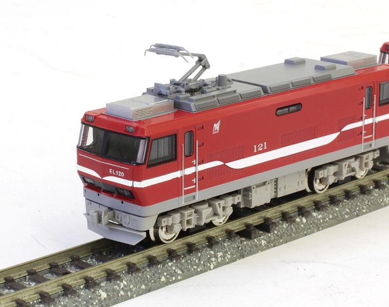名鉄EL120形電気機関車 2両(M+M)セット(動力付き) 【グリーンマックス・30743】「鉄道模型 Nゲージ GREENMAX」