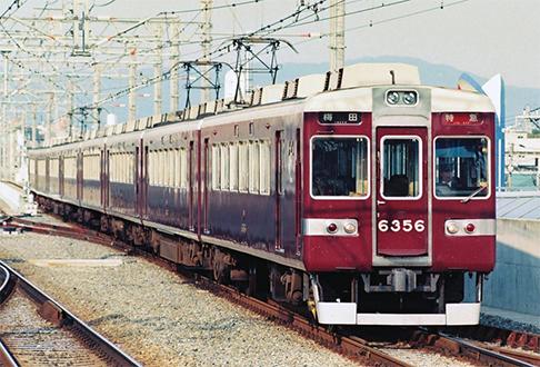 阪急6300系 原形 Hマーク時代 完成品 基本4両セット 【カツミ・KTM-406】「鉄道模型 HOゲージ」