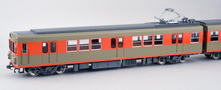 東武2000系・旧ツートンカラー 完成品 基本4両セット(2次車)【カツミ・KTM-393】「鉄道模型 HOゲージ」