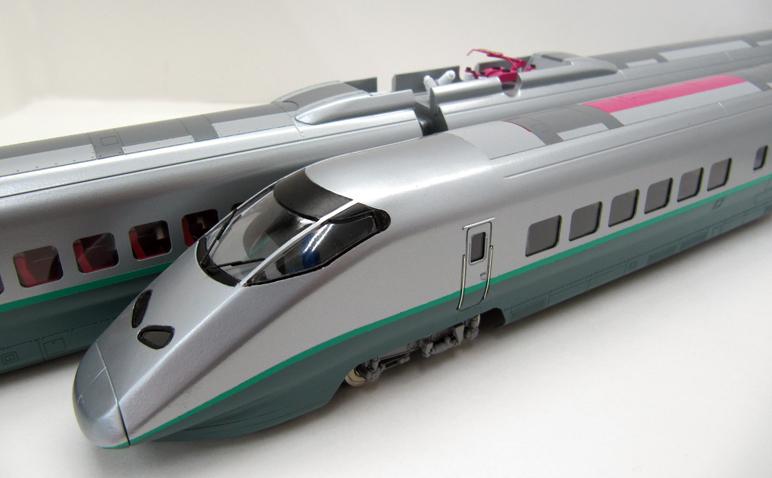 E3系2000番台 つばさ 基本4両セット 【カツミ・KTM-398】「鉄道模型 HOゲージ」