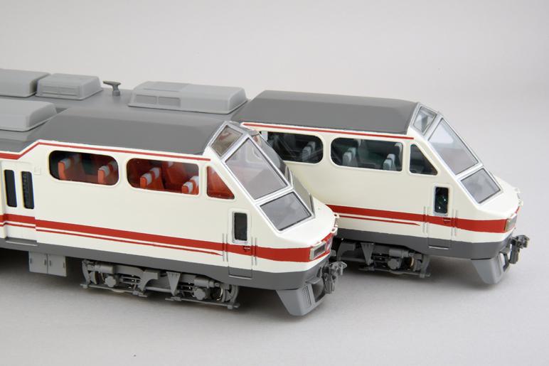 名鉄8800系 パノラマDX 完成品 3両編成セット 【カツミ・KTM-403】「鉄道模型 HOゲージ」