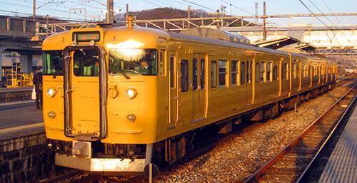 JR115系1000番台(30N体質改善車・岡山D編成・中国地域色)3両編成セット(動力無し) 【グリーンマックス・30771】「鉄道模型 Nゲージ GREENMAX」