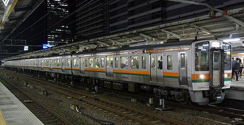 JR211系5000番台(1次車・中央西線) 3両編成セット(動力無し)【グリーンマックス・30773】「鉄道模型 Nゲージ GREENMAX」