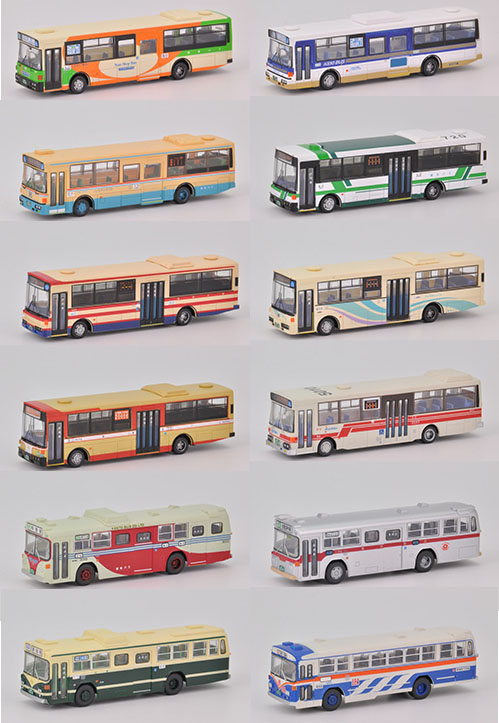 ザ・バスコレクション第20弾 【トミーテック・261834】「鉄道模型 Nゲージ TOMYTEC」