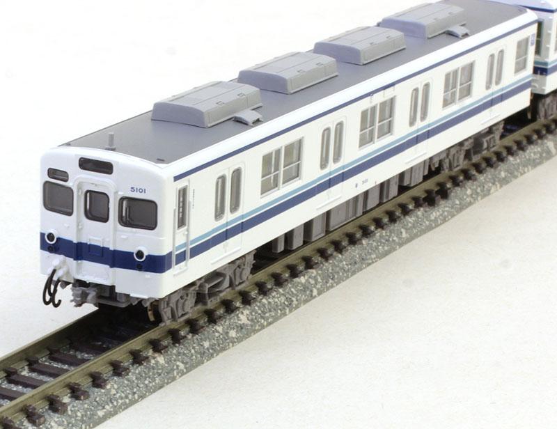 東武5000型・新塗装・野田線 6両セット 【マイクロエース・A1860】「鉄道模型 Nゲージ MICROACE」