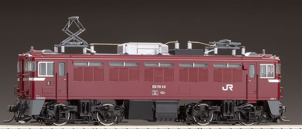 ☆HOゲージ HO 電気機関車☆ ED79-0形(Hゴムグレー PS)【TOMIX・HO-2510】「鉄道模型 HOゲージ トミックス」
