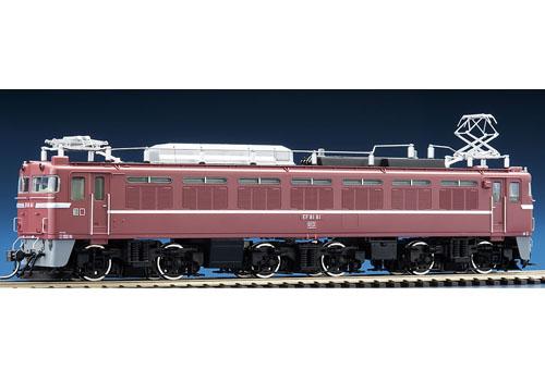 EF81形(81号機・お召色・PS)【TOMIX・HO-2506】「鉄道模型 HOゲージ トミックス」