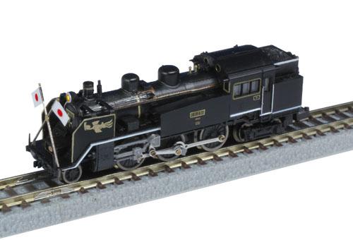 国鉄C11蒸気機関車 251号機 お召し仕様【ロクハン・T019-7】「鉄道模型 Zゲージ」