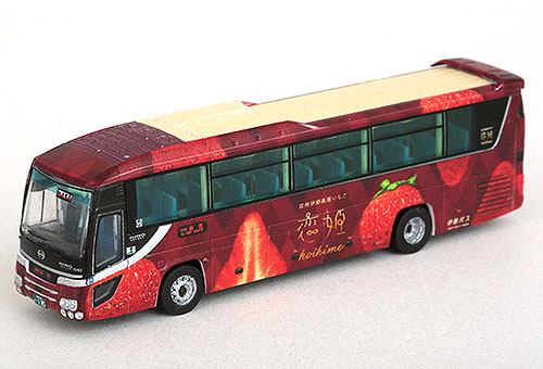 Nゲージ 買取 バス ザ バスコレクション 伊那バス創業100周年記念 ラッピングバス 308140 入手困難 トミーテック 鉄道模型 恋姫