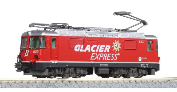 アルプスの機関車Ge4/4-2 氷河特急【KATO・3102-2】「鉄道模型 Nゲージ カトー」:ミッドナイン