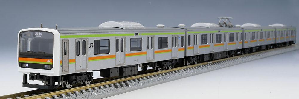 209 3000系通勤電車(川越 八高線)セット(4両)【TOMIX・98354】「鉄道模型 Nゲージ トミックス」
