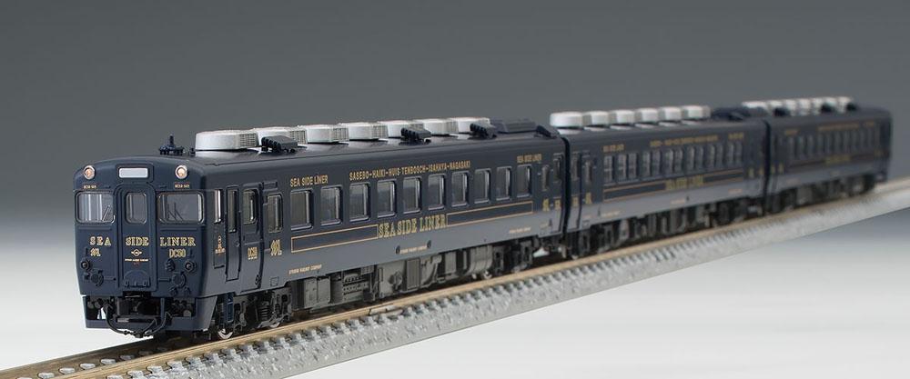 限定キハ58系(快速シーサイドライナー 紺色 キハ28 5200)セット(3両)【TOMIX・97918】「鉄道模型 Nゲージ トミックス」