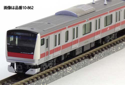 ※新製品 6月発売※E233系5000番台 京葉線(貫通編成)6両基本セット【KATO・10-1568】「鉄道模型 Nゲージ カトー」