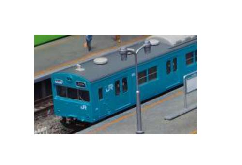 ※新製品 1月発売※JR103系初期車 関西形A スカイブルー 4両編成基本セット【グリーンマックス・1236S】「鉄道模型 Nゲージ」