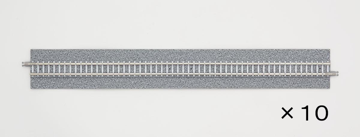 Nゲージ 日本製 単品レール ワイドPCレールS280-WP F セール特別価格 ポイント分岐用 鉄道模型 トミックス TOMIX 1767T 4本セット