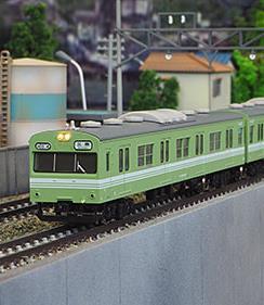 JR103系(関西形・岡山色・H04編成)4両編成セット(動力付き)【グリーンマックス・30255】「鉄道模型 Nゲージ」