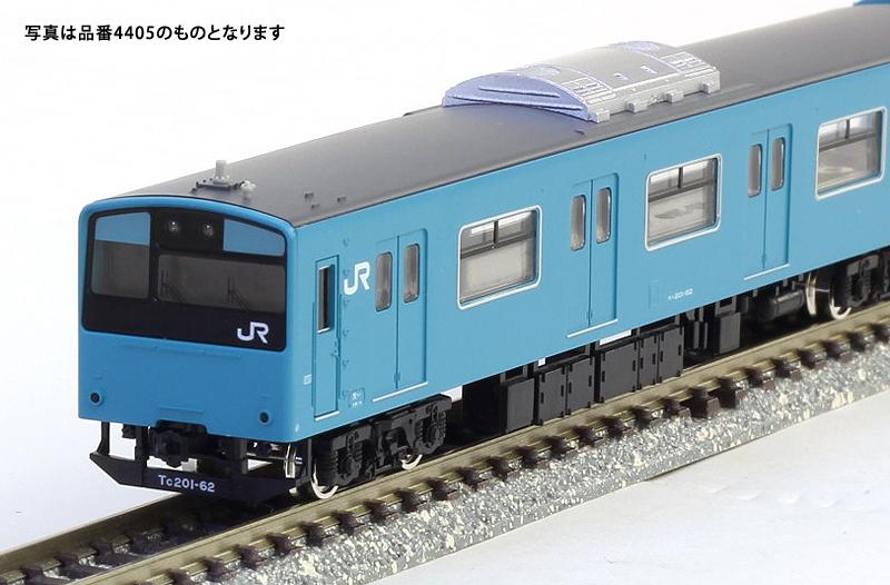 JR201系体質改善車 スカイブルー 大阪環状線 8両編成セット(動力付き)【グリーンマックス・30267】「鉄道模型 Nゲージ」