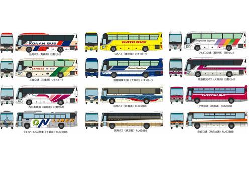 ザ バスコレクション第27弾【トミーテック・306351】「鉄道模型 Nゲージ」