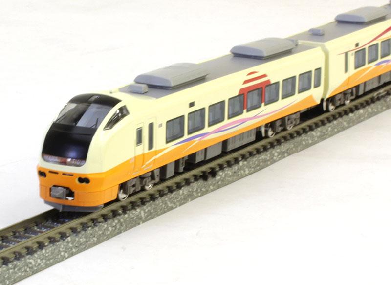E653系1000番代いなほ(ヘッドマーク付き・1+2列グリーン車シート)7両編成セット(動力付き)【グリーンマックス・30832】「鉄道模型 Nゲージ」
