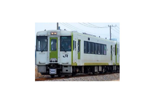JRキハ110形(200番代 前期形 八高線)2両編成セット(動力付き)【グリーンマックス・30867】「鉄道模型 Nゲージ」