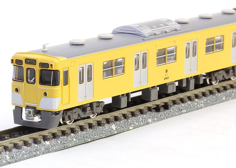 西武2000系初期車 更新車 4両増結用中間車セット【グリーンマックス・4148g】「鉄道模型 Nゲージ」