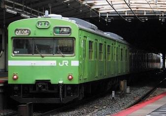 JR103系(関西形・ウグイス・NS617編成)6両編成セット(動力付き)【グリーンマックス・50611】「鉄道模型 Nゲージ」