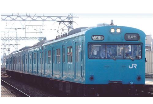 ※新製品 6月発売※103系 西日本更新車 阪和線 スカイブルー 4両セット【マイクロエース・A0546】「鉄道模型 Nゲージ」