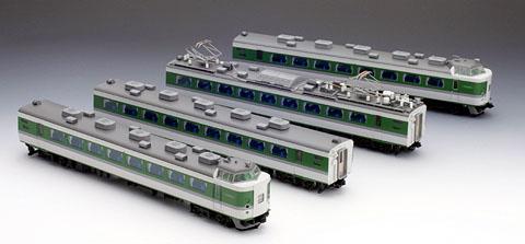 489系 特急電車(あさま) 4両基本セット【TOMIX・HO-050】「鉄道模型 HOゲージ トミックス」