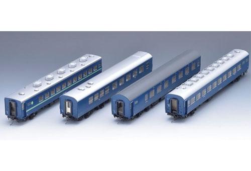 10系客車(夜行急行列車)セット(4両)【TOMIX・HO-9046】「鉄道模型 HOゲージ トミックス」