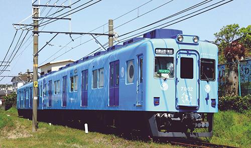 ※新製品 1月発売※南海7100系 めでたいでんしゃ(ブルー) 2両セット【マイクロエース・A6377】「鉄道模型 Nゲージ」