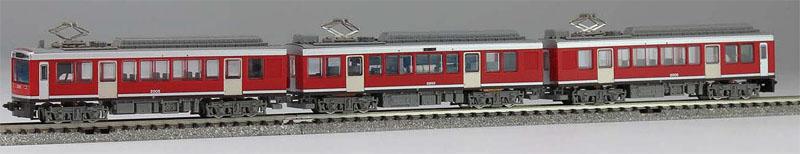 箱根登山鉄道2000形 レーティッシュ塗装 初期仕様 3両セット【モデモ・NT163】「鉄道模型 Nゲージ」
