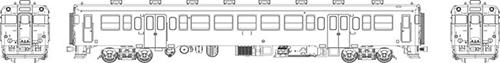 国鉄キハ23首都圏色動力なし【トラムウェイ・TW-23Z-T】「鉄道模型 HOゲージ」, グラスパパ:a84c7d3f --- officewill.xsrv.jp