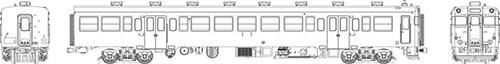 国鉄キハ45首都圏色動力なし【トラムウェイ・TW-45Z-T】「鉄道模型 HOゲージ」