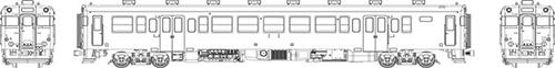 国鉄キハ53首都圏色動力付【トラムウェイ・TW-53Z-M】「鉄道模型 HOゲージ」