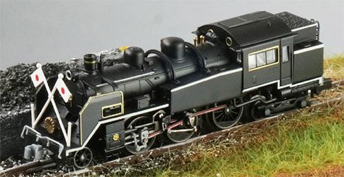 国鉄C11-200 お召しタイプB【トラムウェイ・TW-N-C11XD】「鉄道模型 Nゲージ」