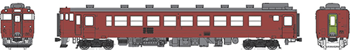 国鉄キハ48首都圏色-500番代 動力なし【トラムウェイ・TW48-500RT】「鉄道模型 HOゲージ」