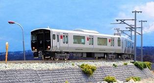 ※新製品 6月発売※JR九州817系0番台(佐世保車)基本2両編成セット(動力付き)【グリーンマックス・30317】「鉄道模型 Nゲージ」