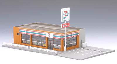"""便利店(7-ELEVEn)2""""铁道模型N测量仪器托米奇结构"""""""