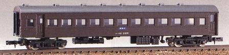 オハフ61形 (未塗装組立キット)【グリーンマックス・122】「鉄道模型 Nゲージ GREENMAX」