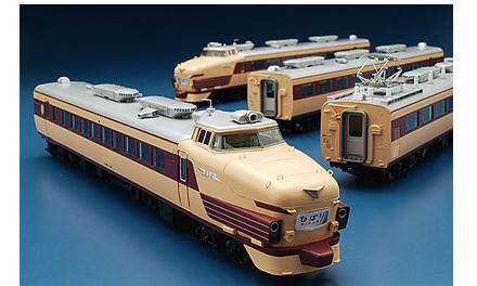 485系(初期型) 4両基本セット【TOMIX・HO-022】「鉄道模型 HOゲージ トミックス」