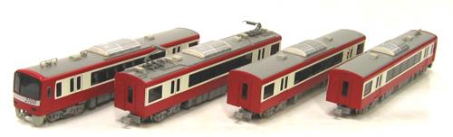 京浜急行2100形 4輛編成基本セット【グリーンマックス・4062】「鉄道模型 Nゲージ GREENMAX」