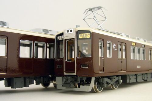 【真鍮製】阪急9300系 中間4両セット (完成品)【カツミ・KTM-172】「鉄道模型 HOゲージ 金属」