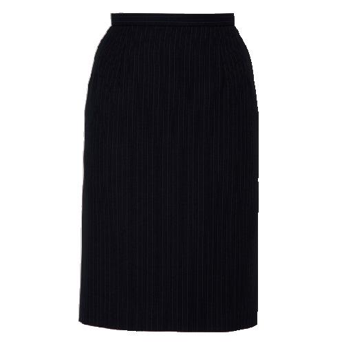 レディース スカート オフィスユニフォーム 事務服 [ボンマックス] BONMAX Outlast スカート AS2246-30 ブラック×ピンク 5~19号 仕事着